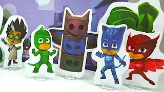 Герои в масках игровой набор для детей, развивающее видео