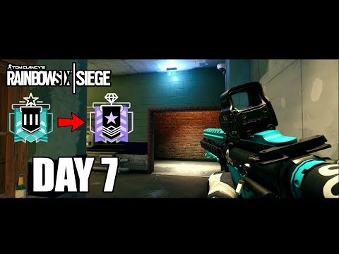 The Carry is REAL - Solo - Road To Diamond - Day 7 - Season 2 - Rainbow Six Siege