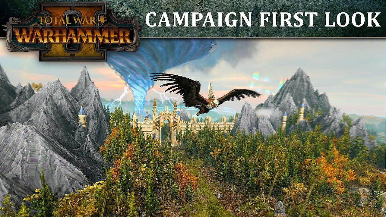Обложка видео Сюжетный трейлер Total War: WARHAMMER 2