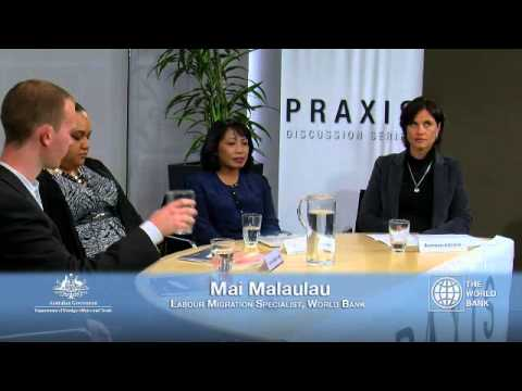 World Bank panel discussion of Labour mobility