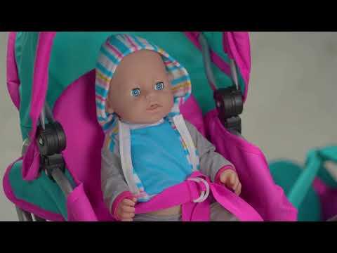 Коляска для куклы 9346-2