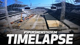 New Spurs Stadium: Latest time-lapse update