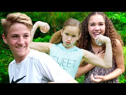WATER BALLOON FIGHT!!! (MattyBRaps, Haschak Sisters, Justin & Josh!)