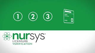 Nursys License Verification