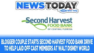 Blogger Couple Starts Second Harvest Food Bank Drive to Help Laid Off Cast Members - NewsToday 10/5
