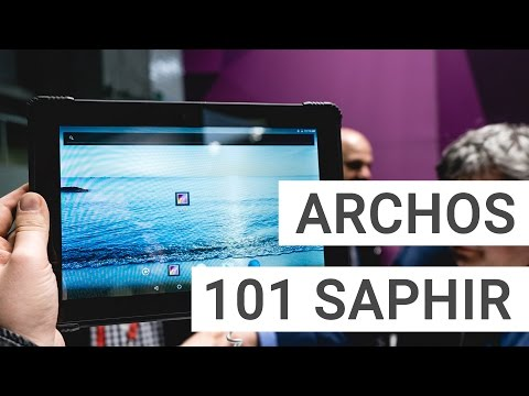 Archos 101 Saphir Hands On: A Robust Android Tablet