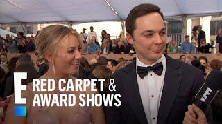 Are Kaley Cuoco And Jim Parsons Fighting? | E! Red Carpet & Award Shows