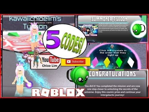 Event Roblox Universe Roblox Gameplay Summoner Tycoon Universe Getting The Universe Event Alien Backpack 5 Codes Steemit