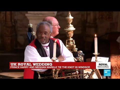 Епископ на свадьбе принца Гарри и Меган Маркл: гости смущены, пользователи сети в восторге