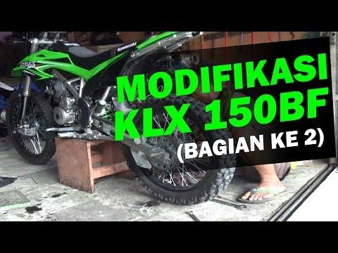 Video Modifikasi Kawasaki KLX 150BF Adventure, Trail, Enduro (bagian 2)