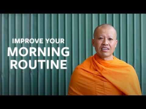 This Tibetan Monk Shares His Morning Routine