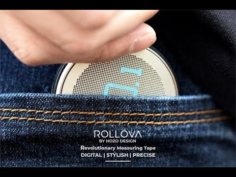 ROLLOVA- The First Compact Digital Rolling Ruler-GadgetAny