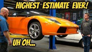 Here's Everything That's Broken on the Cheapest Lamborghini Murcielago Roadster: HUGE ESTIMATE