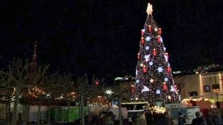 Самую большую в мире рождественскую ель установили в Дортмунде (новости) http://9kommentariev.ru/