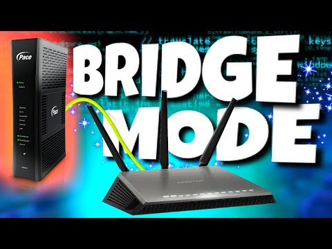 GATEWAY BRIDGE MODE ROUTER SETUP!!! (AT&T Pace 5268ac)