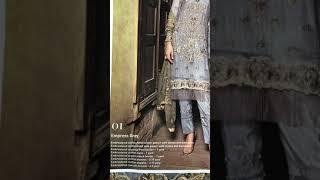 b05574ce6f Embroyal Chiffon Collection 2018 - Unbox 01 Moonlight Dove - Pakistani  Branded Dresses. 10:14 192 kbps 14.0 MB Play Descargar. Design 1  Destination Wedding ...