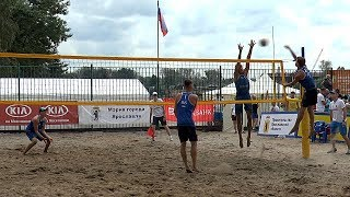 Пляжный волейбол. Мужчины. Игра за 3-е место