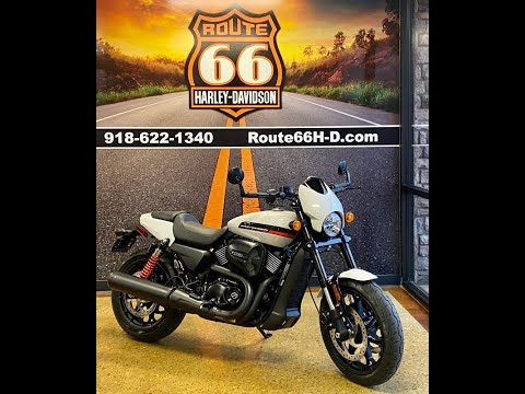Stone Washed White Pearl 2020 Harley-Davidson® Street Rod™ XG750A