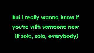 Clean Bandit- Solo ft Demi Lovato (LYRICS)