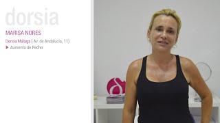 Aumento de pecho - Testimonio Marisa Nores - Clínica Dorsia Sevilla