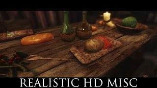TES V - Skyrim Mods: Realistic HD Misc