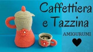 Gatto Nella Tazza Amigurumi Tutorial Cat In The Cup Crochet Gato