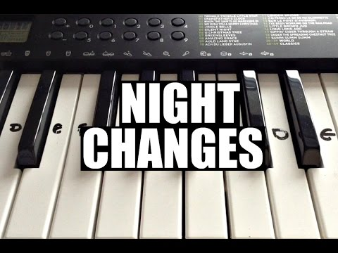 Night Changes - One Direction | Easy Keyboard Tutorial With Notes (Right Hand) Mp3