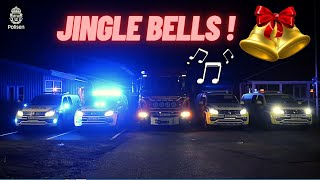 Jingle Bells by Swedish police and fire brigade !