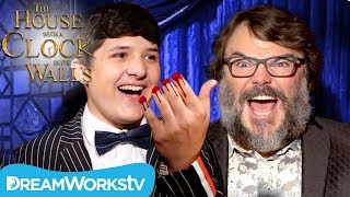 Severed Finger Trick TERRIFIES Jack Black Ft Junk Drawer Magic   The House With A Clock In Its Walls