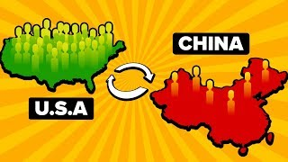What If The US Had The Same Population As China?
