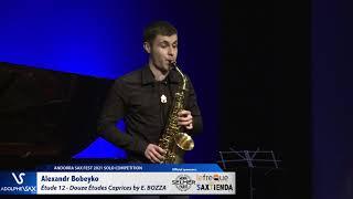 Alexandr Bobeyko plays Étude 12 – Douze Études Caprices by Eugène BOZZA