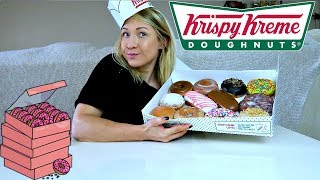 MUKBANG | Krispy Kreme Donuts | Eating Show