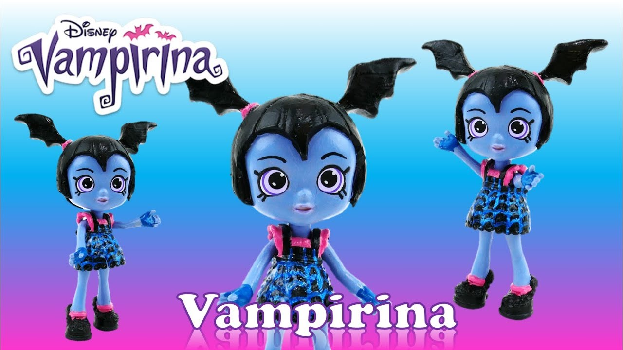 Vampirina Doll Custom Disney Junior Shoppie DIY Toy