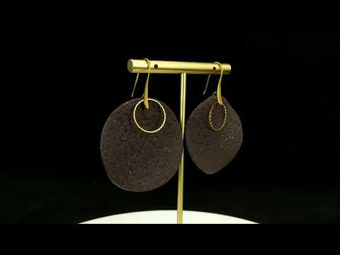 Handmade Clay Dangle Earrings