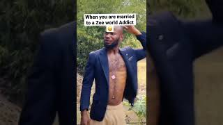 When you are married to a Zee world Addict 😂😂 (full video on my page )