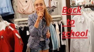 LIFE VLOG: BACK TO SCHOOL/ Покупки к школе Gloria Jeans/ Нас разыграли.
