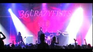 36 CRAZYFISTS IN THE MIDNIGHTS LIVE