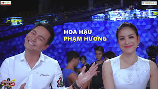 """[VBIZ PAPARAZZI] Phan Anh dạy Phạm Hương """"thả tim"""""""