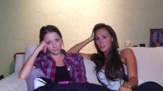 VLOG - Julia Price and Taryn Southern Q&A (Two Girls One Couch)