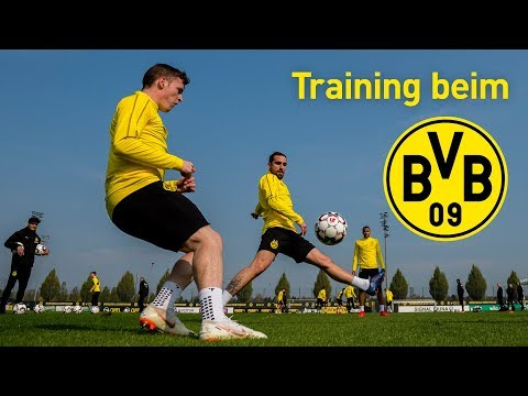 Borussia Dortmund Fully Focused on Mainz   Training
