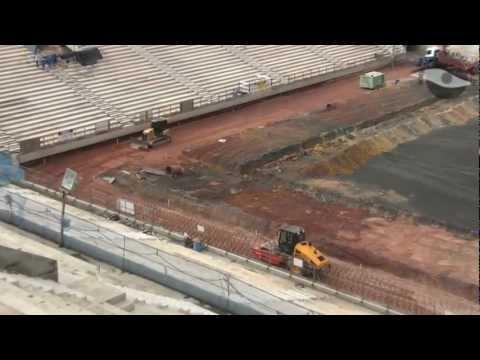 Arena Corinthians - Escavação do campo em 22/02/2013