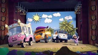 Олли Веселый грузовичок - Мультфильм про машинки - Серия 21 - Мюзикл Айвен и Марио (Full HD)