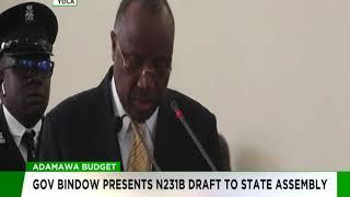 Adamawa Governor, Jubrilia Bindow Presents 2019 Budget