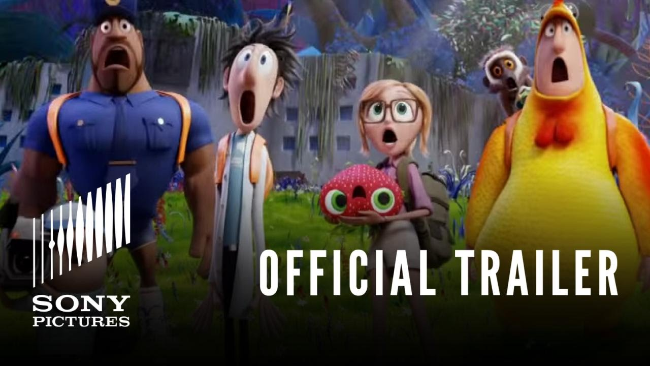 Video trailer för Cloudy With a Chance of Meatballs 2 - Official Trailer #2 - In Theaters 9/27