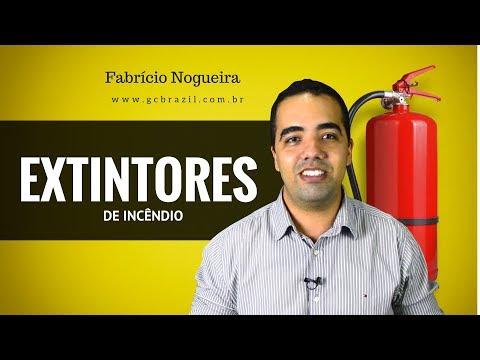 EXTINTORES DE INCÊNDIO - Tipos de Extintores de Incêndio e seu Uso.