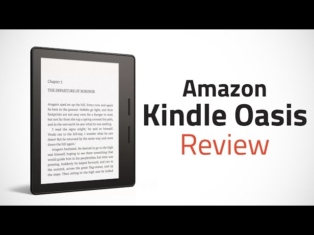 Amazon Kindle Oasis Review   NDTV Gadgets360 com