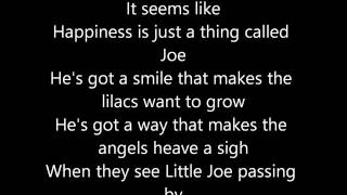 Peggy Lee - Happiness Is a Thing Called Joe (Lyrics)