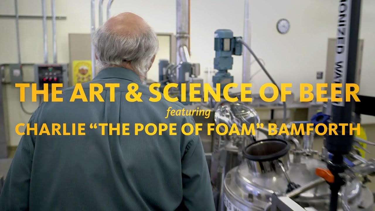 The Pope Of Foam Explains The Science Of Brewing Beer