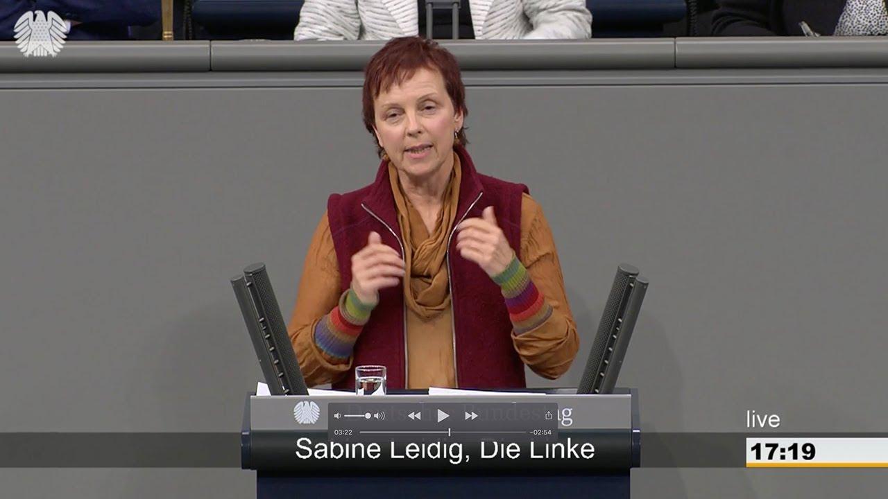 Rede von Sabine Leidig am 22. Februar 2018 im Deutschen Bundestag zum Thema Für eine sozial-ökologische Verkehrswende: JA zum Nulltarif!