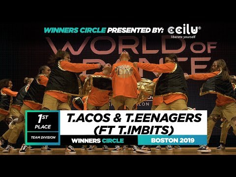 T.ACOS X T.EENAGERS ft T.IMBITS  1st Place Team Winners Circle World of Dance Boston 2019 #WODBOS19